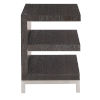 This item: Decorage Cerused Mink End Table with Fixed Shelf