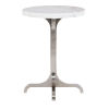 This item: Decorage Stainless steel and Silver Mist  Chairside Table