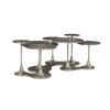 This item: Circlet Charcoal Cocktail Table