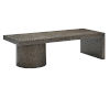 This item: Linea Black Rectangle Cocktail Table