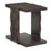 This item: Linea Black Rectangle End Table
