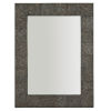 This item: Linea Black Rectangle 38 x 50 Inches Mirror
