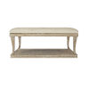 This item: Rustic Patina Sand Upholstered Cocktail Table