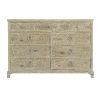 This item: Rustic Patina Sand Nine-Drawer Dresser