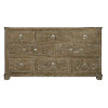 This item: Rustic Patina Peppercorn Dresser