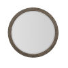 This item: Taupe Canyon Ridge Round Mirror