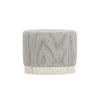 This item: Allure Manor White 26-Inch Ottoman