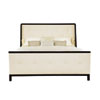 This item: Jet Set Caviar Wood and Fabric 83-Inch Upholstered King Bed