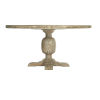 This item: Rustic Patina Sand Round Dining Table