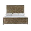 This item: Rustic Patina Peppercorn Panel California King Bed