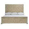 This item: Rustic Patina Sand Panel King Bed