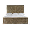 This item: Rustic Patina Peppercorn Panel King Bed