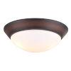 This item: Oil Rubbed Bronze Two-Light LED Ceiling Fan Light Kit