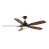 This item: Solero Oil Rubbed Bronze 52-Inch LED Ceiling Fan