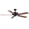 This item: Dalton Oil Rubbed Bronze 52-Inch Two-Light Ceiling Fan