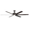 This item: Exo Oil Rubbed Bronze 70-Inch LED Ceiling Fan