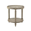 This item: Twilight Bay Gray Phoebe Lamp Table