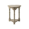 This item: Twilight Bay Gray Bailey Chairside Table