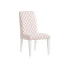 This item: Avondale Linen White and Red Darien Upholstered Side Chair