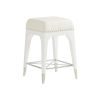 This item: Avondale Linen White Northbrook 24-Inch Counter Stool