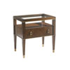 This item: Tower Place Walnut Copley Nightstand