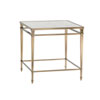 This item: Kensington Place Gold Maxfield Metal Lamp Table