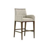 This item: Macarthur Park Gray and Brown Getty Bar Stool