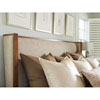 This item: Kitano Brown Mirah Upholstered King Headboard