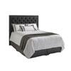 This item: Carrera Gray Maranello Upholstered California King Headboard