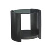 This item: Carrera Gray Firano Round End Table