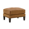 This item: Kensington Place Orange Ashton Leather Ottoman