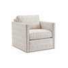 This item: Kitano White Hinsdale Swivel Club Chair