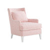 This item: Avondale Pink and White Brookline Chair