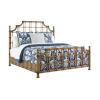 This item: Twin Palms Brown St. Kitts Rattan Queen Bed