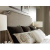 This item: Cypress Point Gray Stone Harbour Upholstered Queen Headboard