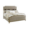 This item: Cypress Point Gray Stone Harbour Upholstered California King Bed