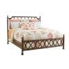 This item: Bali Hai Brown Island Breeze Rattan California King Bed