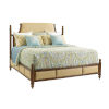 This item: Bali Hai Brown Orchid Bay Upholstered Queen Panel Bed