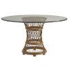 This item: Bali Hai Brown Aruba Dining Table Base