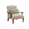 This item: Tommy Bahama Upholstery Brown and Beige San Carlos Chair