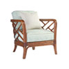 This item: Island Estate Brown and Green Palm Chair