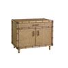 This item: Twin Palms Brown Larimar Storage Chest