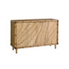 This item: Twin Palms Brown St. Croix Hall Chest