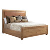 This item: Los Altos Brown Antilles Upholstered King Panel Bed