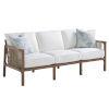 This item: St Tropez Natural Teak Sofa