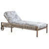 This item: St Tropez Natural Teak Chaise Lounge