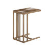 This item: St Tropez Natural Teak Rectangular End Table