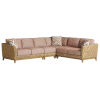 This item: Los Altos Valley View Brown Weather Resistant Aluminum Sectional
