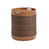 This item: Harbor Isle Brown Round End Table