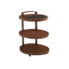 This item: Harbor Isle Brown Tiered End Table